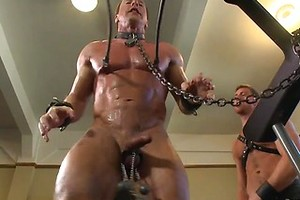 Derek Pain endures the Torturous BDSM Workout, Added: 2017-10-18, Length: 00:00:56