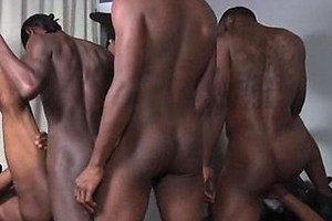 Phoenix, Solo, Blaque Rod, Intrigue, Dragon and Pleasure Boi in a black gay orgy, Added: 2017-12-16, Length: 00:05:06